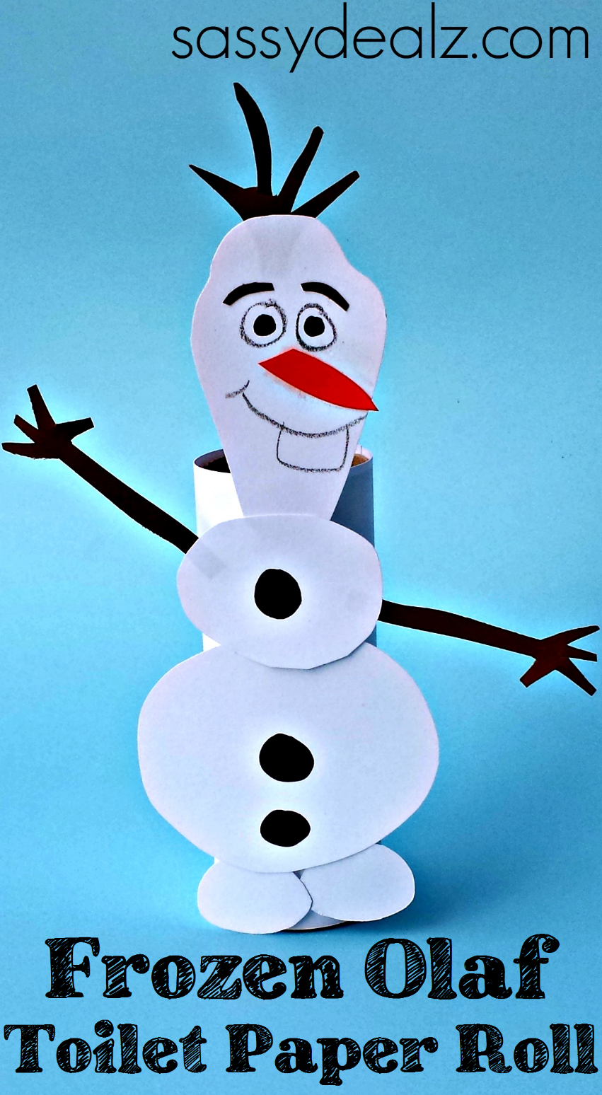 Frozen Olaf Paper Crafts
