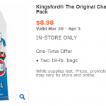 Walmart: Kingsford Charcoal Briquets (Twin Pack) Only $8.89