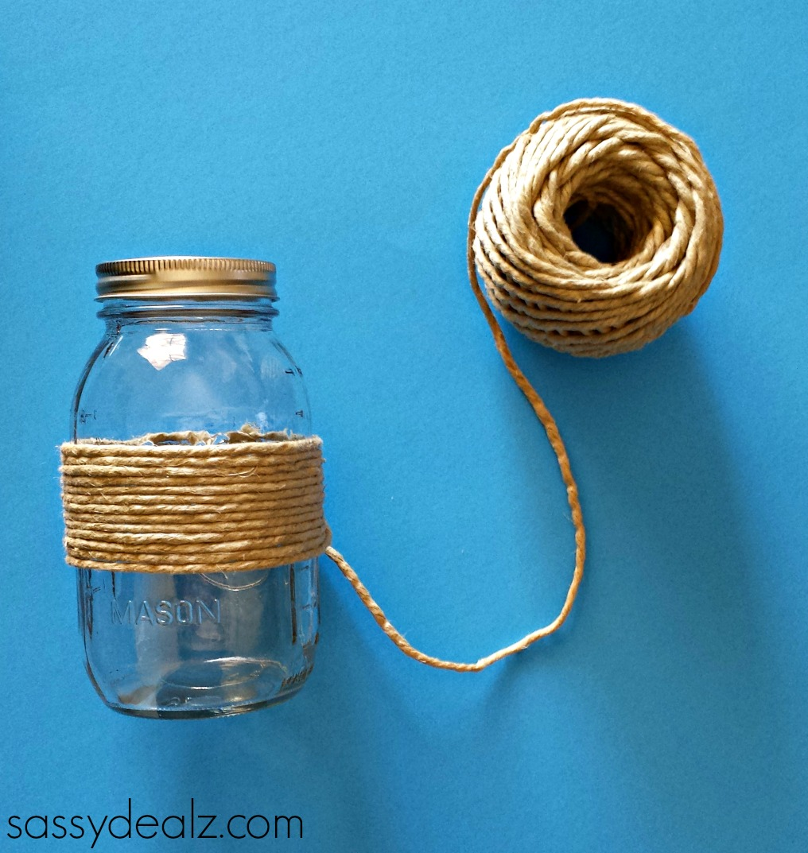 Mason Jar Projects Diy Mason Jar Vase Craft Using Pine Cones Crafty Morning
