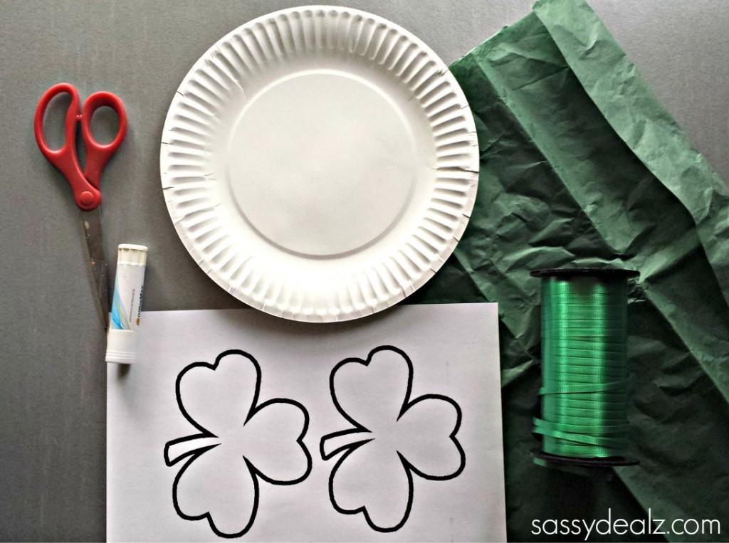 paper-plate-shamrock