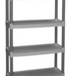 Walmart: Plano 4-Shelf Storage Unit (Light Taupe) Only $19.97 (Reg $39.97!)