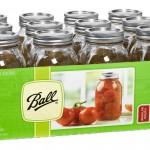 12 Ball Regular-Mouth Mason Jars Only $8.79 (Reg $29.99)