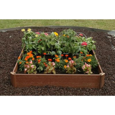 Home Depot 42x42 In Raised Bed Garden Kit Only