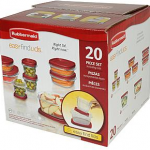 Kmart: Rubbermaid 20-Piece Storage Set Only $7.19 (Reg $19.99)
