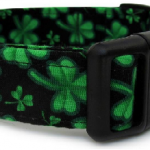 Shamrock Dog Collar & Leash for St. Patrick's Day