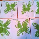 Shamrock Handprint Craft for St. Patrick's Day