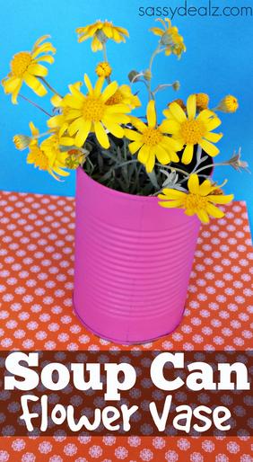 soup-can-flower-vase-diy