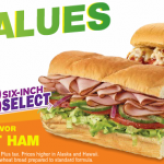 Subway March Specials – $3 Six Inch Sub & $5 Footlong Meatball Sub