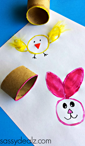 toilet-roll-easter-crafts