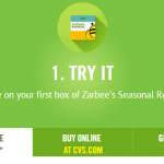 Free Sample of Zarbee's Seasonal Relief