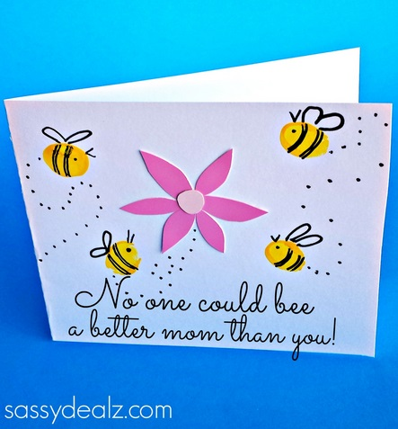Bee Mothers Day Card