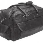 Black Lambskin Duffle Bag Only $19.99 + Free Shipping!
