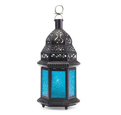 blue-glass-lantern