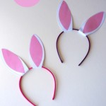 Make Your Own Bunny Ears with a Headband