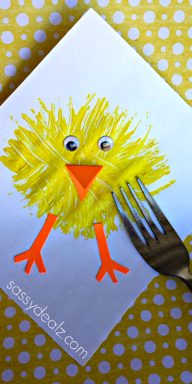 chick-craft-using-fork