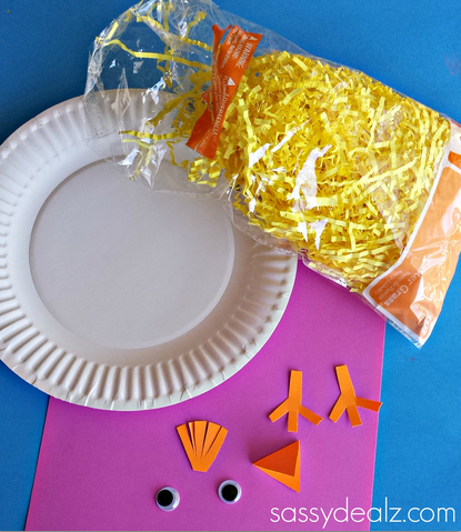 chick-easter-grass-craft