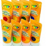 8 Crayola Fingerpaints (Bold & Secondary Colors) Only $12.99