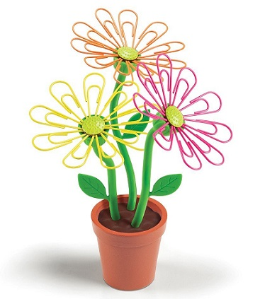 daisy-paperclip-holder