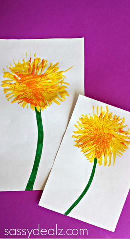 dandelion-flower-craft-for-kids