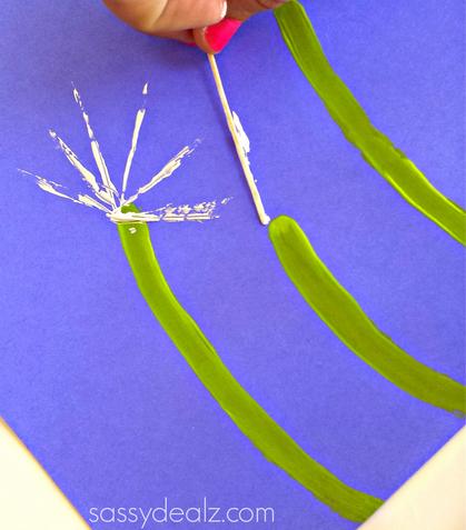 dandelion-q-tip-crafts
