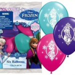 12 Disney Frozen Birthday Balloons Just $8.75 + Free Shipping