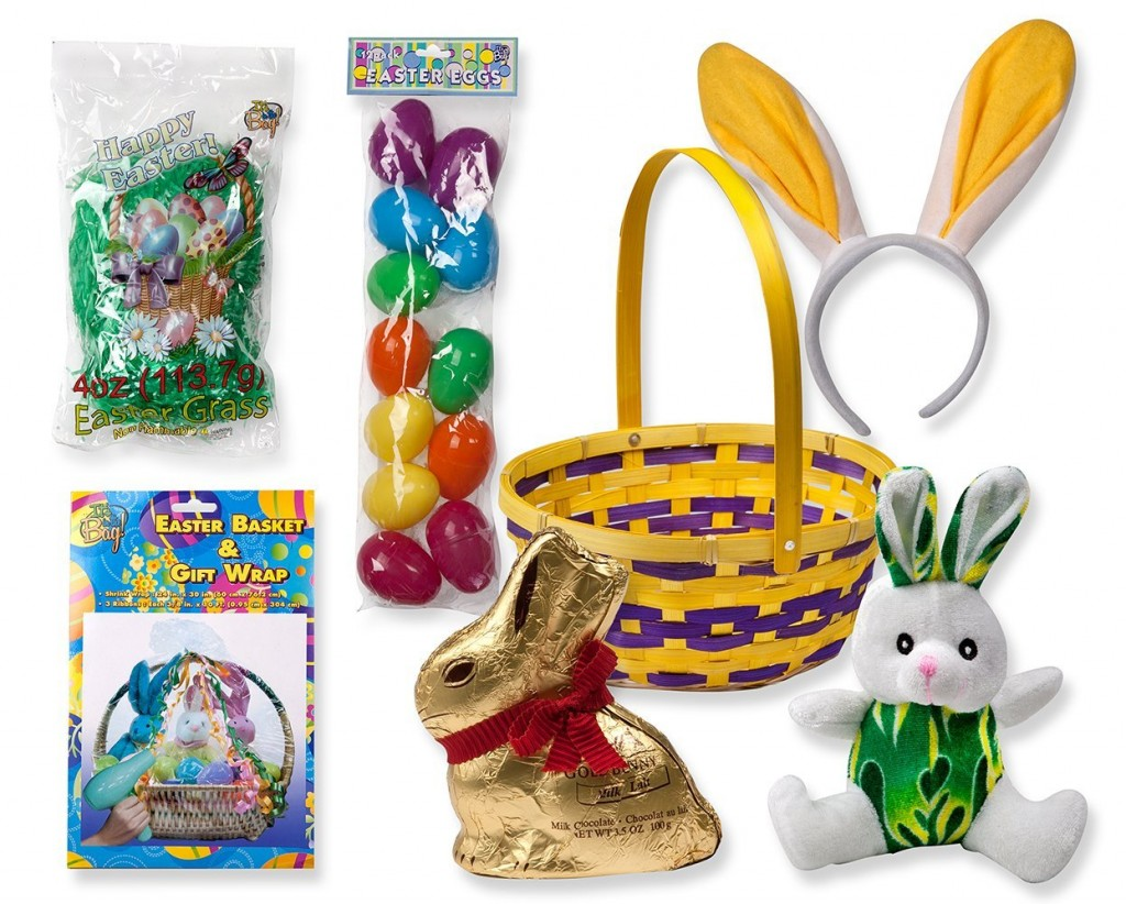 Complete easter gift basket for kids just 1595 shipped sassy dealz easter basket negle Choice Image