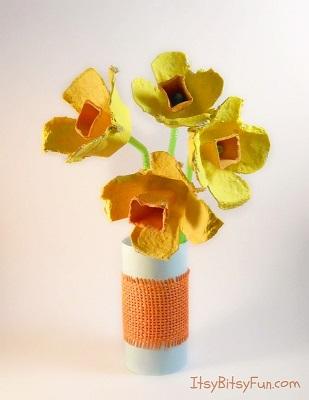 egg-carton-daffodils