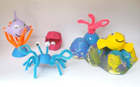 egg-carton-sea-life-crafts