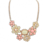 Jewel Flower Bubble Necklaces Only $7.98 Shipped