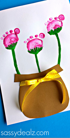 flower-pot-footprint-craft-for-kids
