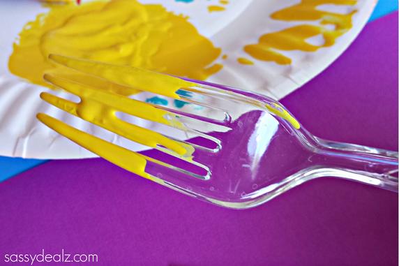 fork-dandelion-craft