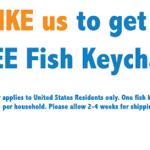 Free Fish Keychain/Bottle Opener