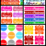 Free Pinterest Button and Icon Sets to Download