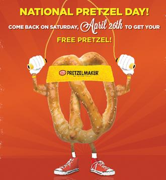 news heres where find freebies national pretzel