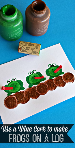 frogs-on-a-log-wine-cork-craft
