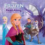 Frozen Read-Along Storybook + CD Only $4.06 Shipped