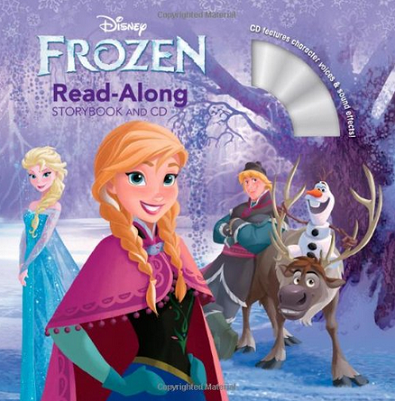 frozen-read-along-book-cd