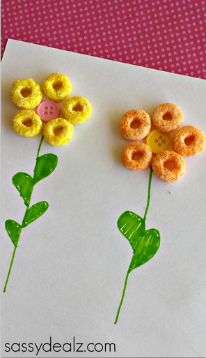 fruit-loop-flowers-craft