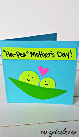 Ha Pea Mothers Day Card For Kids