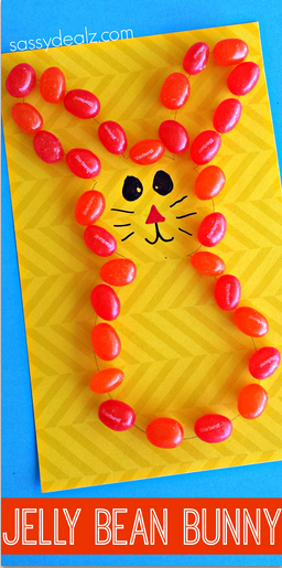 jelly-bean-bunny-craft