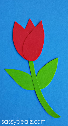 How To Make Paper Tulips
