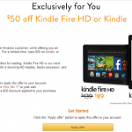 Amazon: Kindle ONLY $19 Shipped!!! ($50 OFF!)