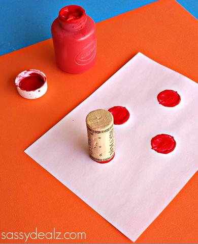 ladybug-cork-craft
