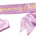 "Purple ""Mommy To Be"" Sash Only $5.51 Shipped (Reg $9.99)"
