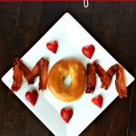 Cute Mother's Day Breakfast Idea