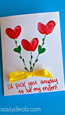 Mothers Day Card For Kids To Make
