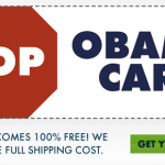 Free Obamacare Stickers (Stop & Love)