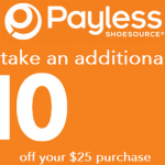 Payless Shoes Coupon: Get $10 off a $25 Purchase (Exp 4/13)