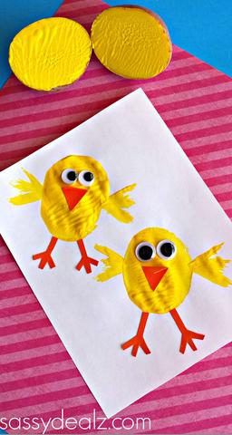 potato-chicks-kids-craft