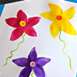 Use Potatoes to Make a Flower Stamp